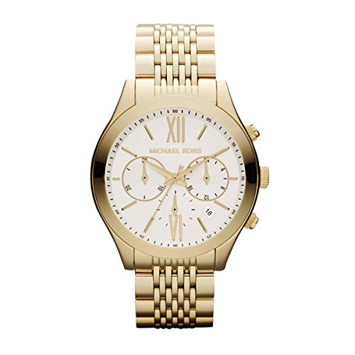 Amazon.com: Michael Kors Brookton Chronograph Gold-Tone Stainless Steel Ladies Watch MK5762: Michael Kors: Watches