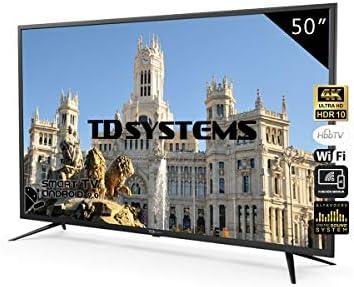 Televisores Smart TV 50 Pulgadas 4K