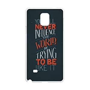 Custom Love you never change Phone Case for SamSung Galaxy note4, Love you never change Note4 Cell Phone Case, Personalized Love you never change Galaxy note4 Case