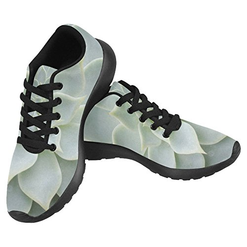 InterestPrint Womens Jogging Running Sneaker Lightweight Go Easy Walking Casual Comfort Running Shoes Cactus Multi 1