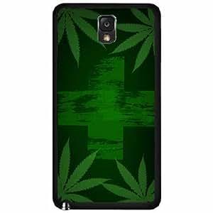 Medical Marijuana Flag TPU RUBBER SILICONE Phone Case Back Cover Samsung Galaxy Note III 3 N9002