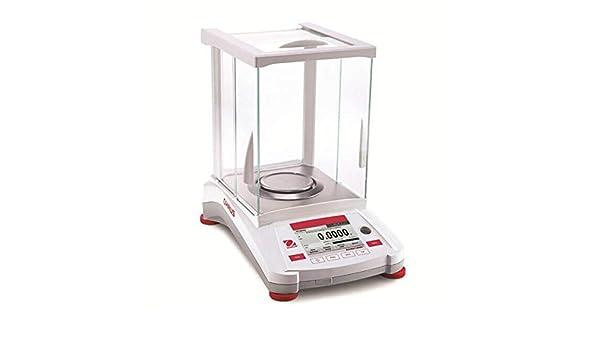 OHAUS AX324M Adventurer Balance analítico, 320 g de capacidad, 0.1 ...
