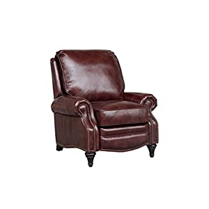 BarcaLounger Avery 7-2160 All Leather Push Back Manual Push Back Recliner Chair