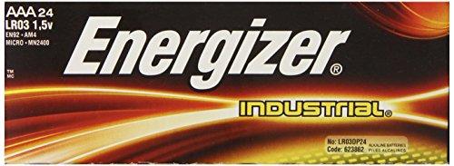 Energizer EN92 Industrial AAA 24 Alkaline Batteries (Amazon Industrial compare prices)