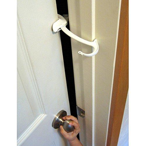 Door Monkey, Childproof Door Lock & Pinch Guard (Monkey Door)