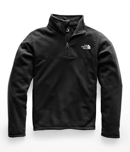 The North Face Kids Boy's Glacier 1/4 Zip (Little Kids/Big Kids) TNF Black/TNF Black Small (Youth North Face Ski Jacket)