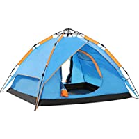 Wnnideo Camping Tent 2-3 Person Easy Instant Pop Up Tent...