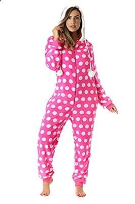 Just Love Polka Dot Adult Onesie/Pajamas