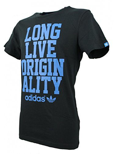 Uomo Adidas Originals 'Viva originalità' Slogan Maglietta