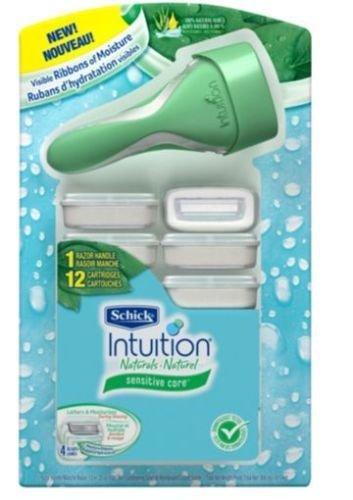 schick-intuition-naturals-sensitive-care-razor-with-12-cartridges