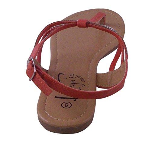 Sandalo Impreziosito Da Sandalo Con Cinturini A Tinta Unita