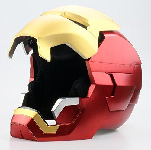 Gmasking Metal MK42 Iron Man Wearable Cosplay Helmet 1:1 Props