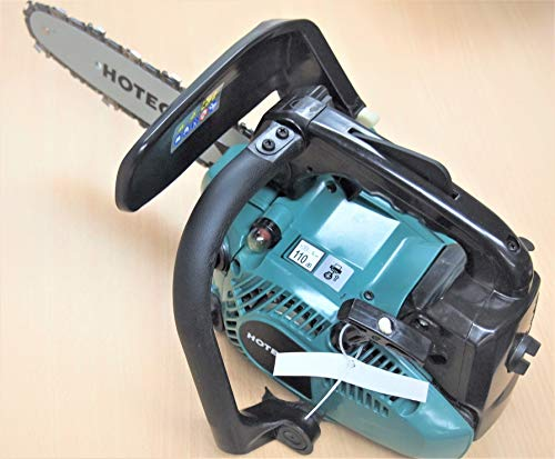 "Hoteche Industrial 10"" 25.4cc Gasoline Chainsaw G840012 Petrol Gas Saw Wood Cutting 2 Stroke"