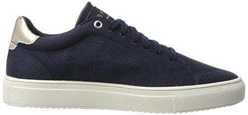 Lu Esprit Femme Sandrine Marine Bleu Sneakers Basses qv8xw5ra8F