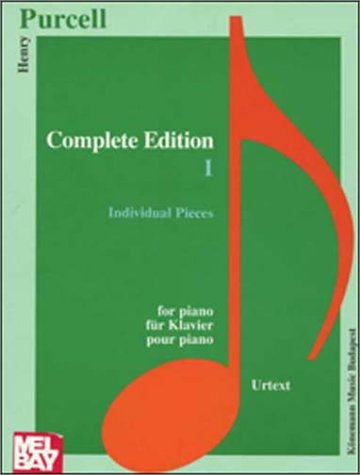 Complete Edition I for Piano: Individual Pieces by Konemann