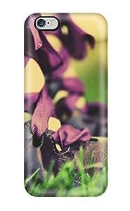 WilliamBDavis Iphone 6 Plus Hybrid Tpu Case Cover Silicon Bumper Black Sandals In Grass