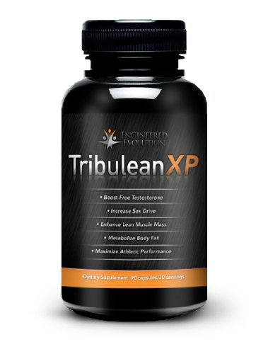 Testosterone Booster Tribulean XP- Clinically Proven Ingredients Used By Men. Safely Maximize Lean Muscle Mass and Metabolize Body Fat Rapidly! 90 Capsules/ 30 Servings