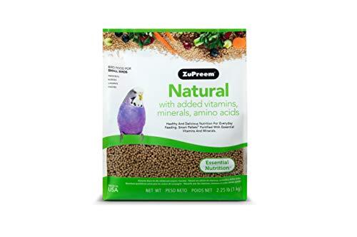 ZuPreem – Alimento para Aves Pequeñas Natural   Alimento Periquitos – 1,02 kg
