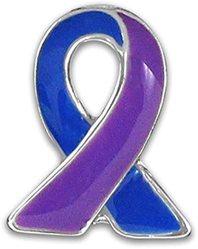 Artritis reumatoide conciencia Ribbon pins (al por mayor – Pack de 25 pines): Amazon.es: Joyería
