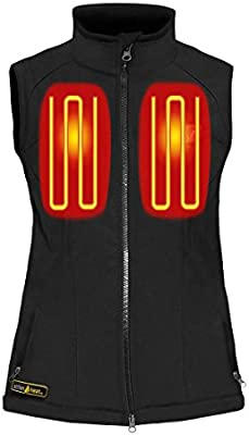 aea325d07c270 Amazon.com: ActionHeat 5V Battery Heated Softshell Vest - Women's: Sports &  Outdoors