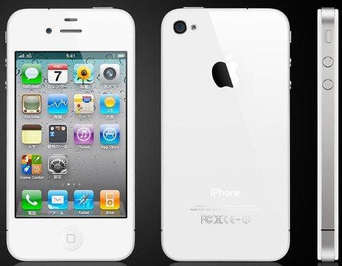 iPhone4 32GB(ホワイト)