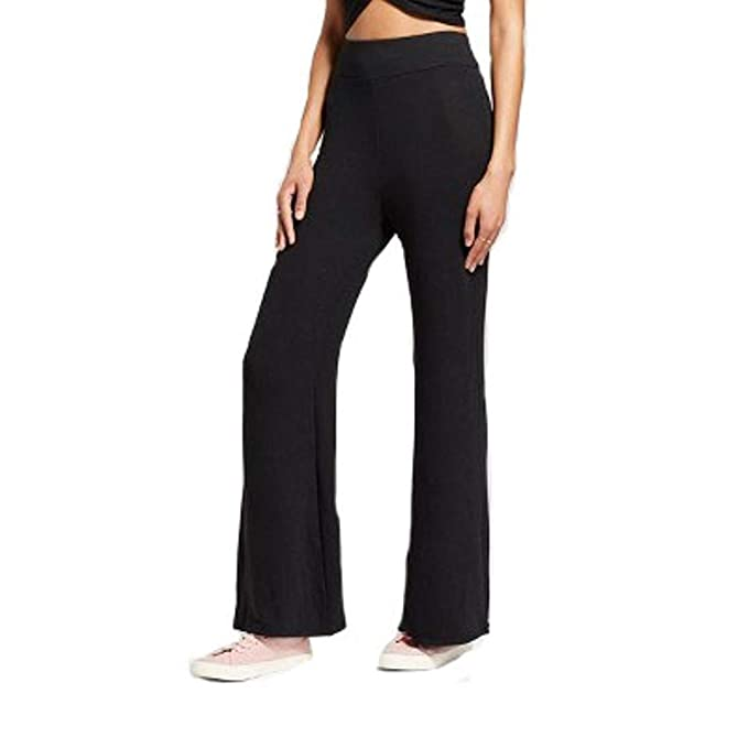 affb4a6a043f0 Mossimo Women's Soft Wide Leg Pants (XS) at Amazon Women's Clothing ...