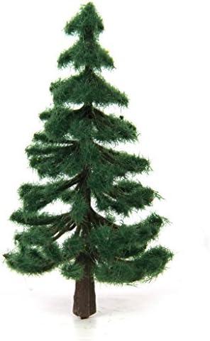sharprepublic 杉の木 モデルツリー 樹木 濃い緑色 鉢植え用 鉄道模型 情景コレクション ジオラ 電車模型 約32個
