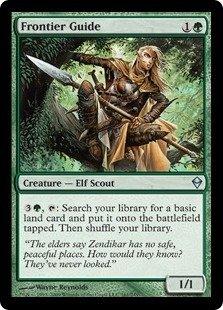 Magic: the Gathering - Frontier Guide (161) - Zendikar - Foil Frontier Guide