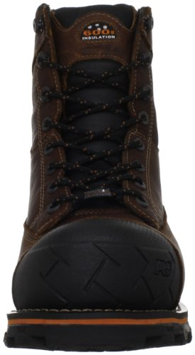 Brown Work Boondock Boot Men's Timberland PRO Waterproof wpqRFxAf