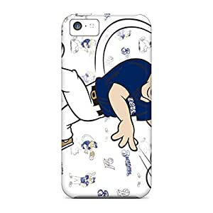 Defender Case For Iphone 5c, Mascots Pattern