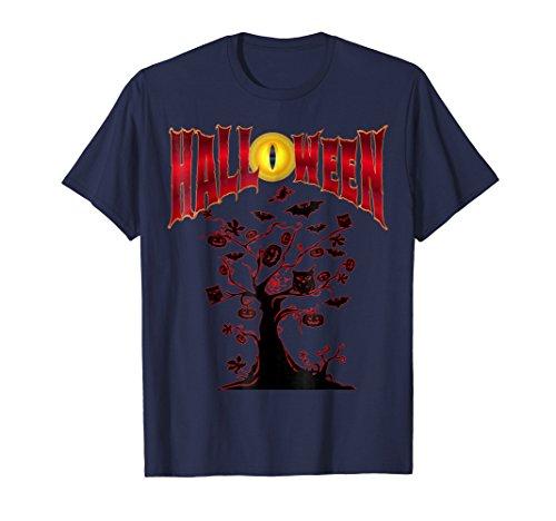 Spooky Haunted Halloween Tree Costume T-shirt ()