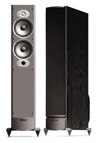 Polk Audio RTi8 High Output Floorstanding Loudspeaker (Single, Black) (Polk Audio Rti A7 Floorstanding Speaker Single Black)