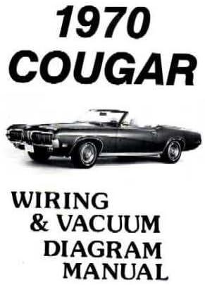 Amazon Com 1970 Mercury Cougar Wiring Diagrams Schematics Everything Else
