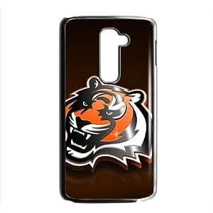 KJHI bengals 2013 schedule Hot sale Phone Case for LG G2 Black