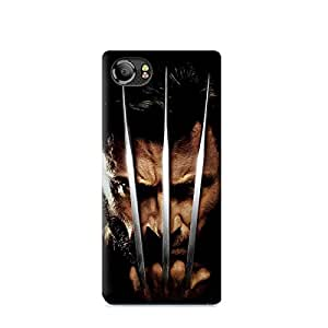 BlackBerry KeyOne TPU Protective Silicone Soft Case with Wolverine Design