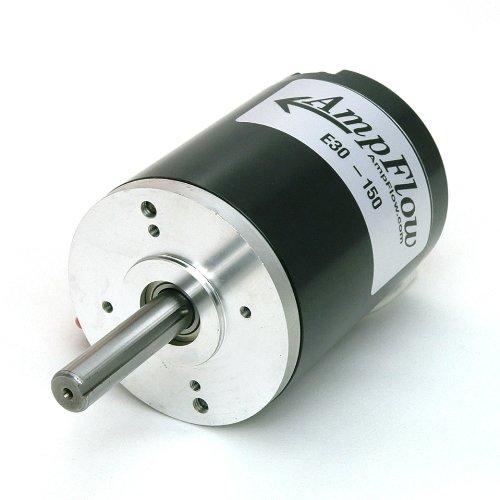 AmpFlow E30-150 Brushed Electric Motor, 12V, 24V or 36 VDC, 5600 RPM by AmpFlow
