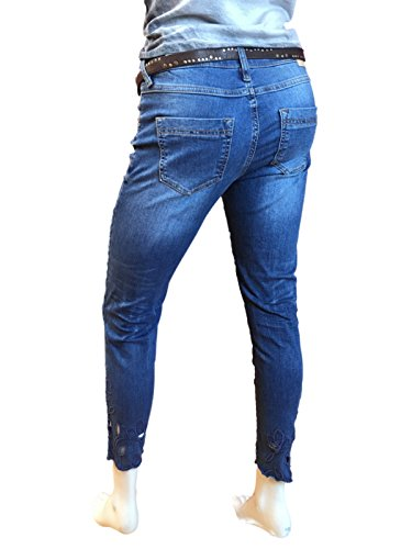 Donna Air zip Amor Jeans Truth ATT amp; Trust Blue YRqxA0