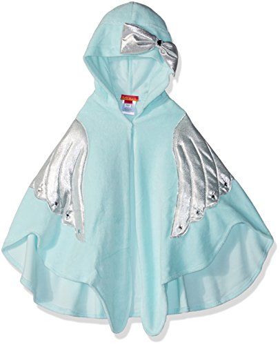 Kate Mack Little Girls' Fairy Dance Terry Towel, Aqua, ONE SZ (Bow Kate Mack)