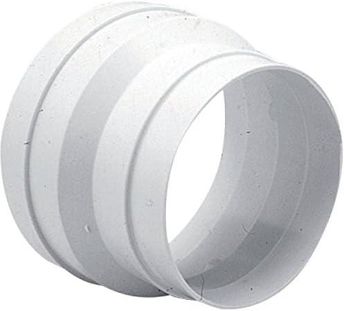 UNELVENT Cónico para tuberías de PVC Reductor de diámetro 125/100 mm: Amazon.es: Hogar