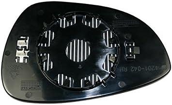Vetro Piastra Specchio Retrovisore Ford B-Max 2012 Sinistro Termico