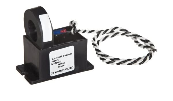 50-400 Hz Frequency N//A +//-0.5/% Accuracy CR Magnetics CR9550-10-M Current Sensor with Mounting Case 10 AC