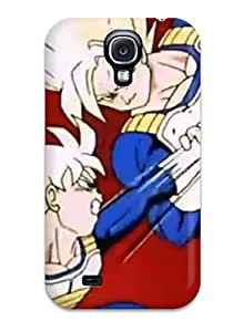 9674542K93142978 Ideal Case Cover For Galaxy S4(goku And Gohan), Protective Stylish Case
