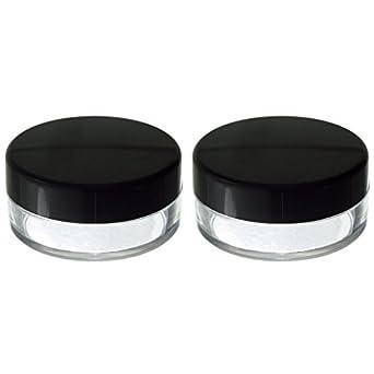 bdf2d8f91b83 Powder Sifter Empty Refillable Cosmetic Makeup Jar (2 Pack) - 20 ml / 20  grams