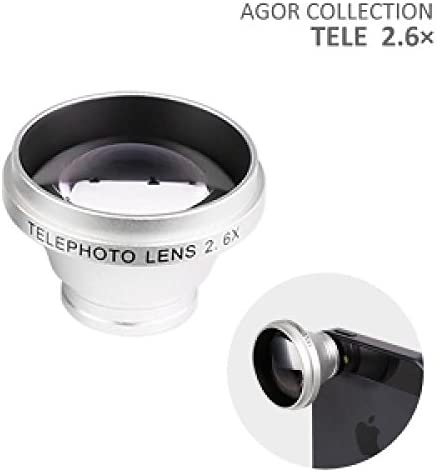 Wide Macro Ultra Zoom Lens x 1.6 System For Smartphone (Silver): Amazon.es: Electrónica