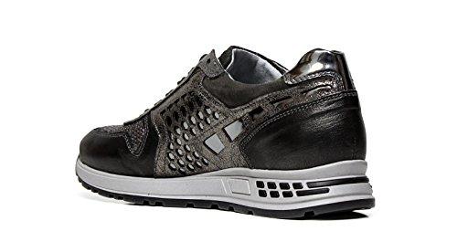 Grigio 105 Sneakers Giardini A616182D Nero Donna wzFaAOq