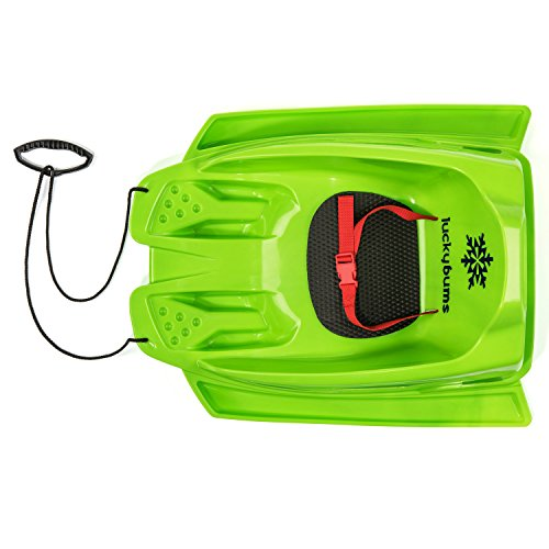 Lucky Bums Toddler Pull sled, Green ()
