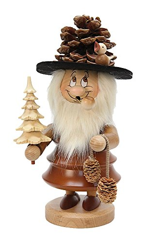 German Incense Smoker Gnome - Coney - 33 cm / 13 inches - Christian Ulbricht by Christian Ulbricht