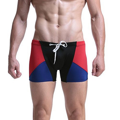112cb7ce7d6b8 Men's Novelty Swimwear, Mens Breathable Swim Trunks Pants Swimwear Shorts  Slim Wear Bikini Swimsuit (