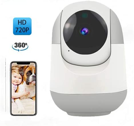 Wireless Security Camera,Baby Monitor with Camera and Audio, Baby Monitor with Motion Tracking Two Way Audio Night Vision Cloud for Pet Baby Elder