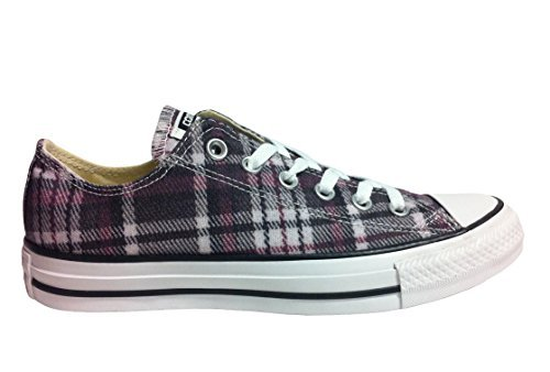 Converse Chuck Taylor All Star Plaid (Converse Unisex Shoes Chuck Taylor Ox Plaid Multi Color 149499f Low Top Sneakers (10.5))
